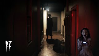 Silent Hill P.T. Gameplay - Best Parts - Girl Plays Most Scariest Horror Game - Facecam