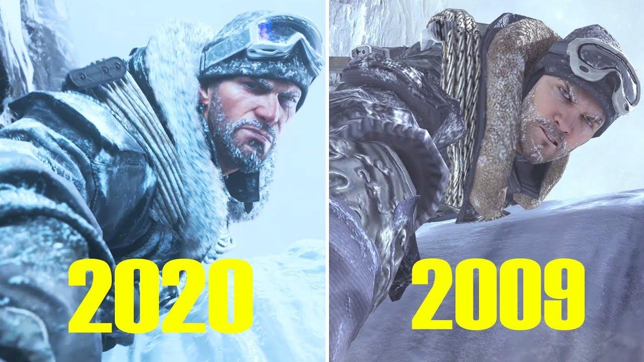 Soap Saving Roach Cliffhanger 2020 Vs 2009 Call Of Duty Modern