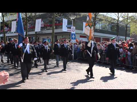 Liberation Day in Wageningen - The Parade