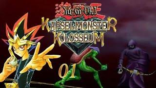 Let´s Play - Yu-Gi-Oh: Kapselmonster Kolosseum - Part 01 - Kapseln statt Karten