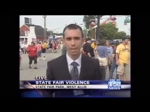 Hundreds of racist Black youths attack Whites at Wisconsin State Fair