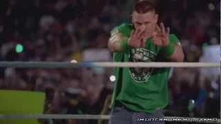 "WWE : John Cena 1st Custom TItantron 2013 - ""My Time Is Now"" [HD]"
