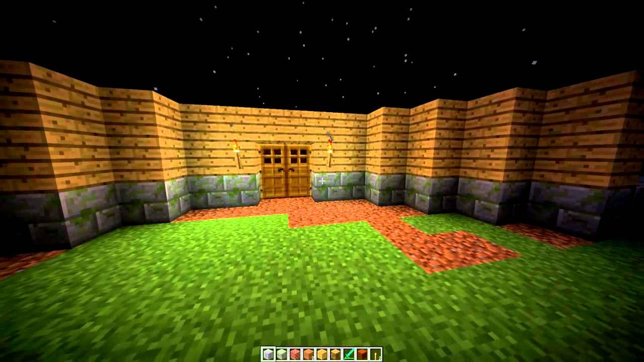 Construction de maison minecraft saison 1 pisode 1 youtube - Minecraft construction de maison ...