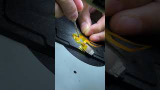 Repair Broken Flex Cable Like a Pro -  Jumper Wires #Shorts