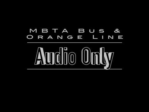 Ambient Audio   MBTA Commuter Rail Full Inbound Ride to South Station