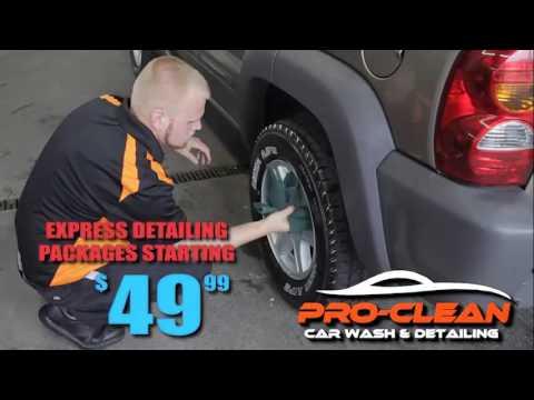 Pro Clean Car Wash >> Pro Clean Car Wash Detailing Express Detailing Youtube