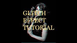 comment créer glitch effet en photo dans PHOTOSHOP CC