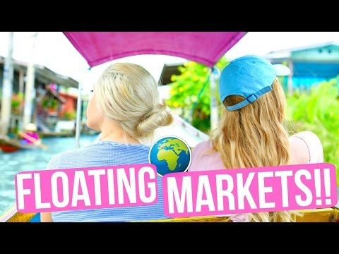 THAILAND FLOATING MARKETS!!!