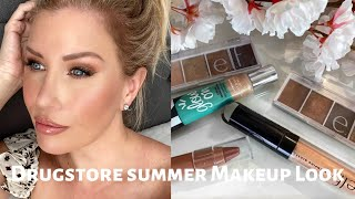 BRONZY SUMMER LOOK USING AFFORDABLE MAKEUP | Risa Does Makeup