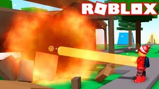 Roblox - I TURNED a SUPER VILLAIN and DESTROYED EVERYTHING - Roblox Supervillain Simulator 🎮