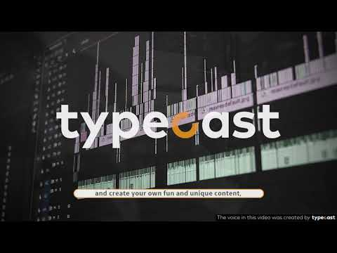 Introducing Typecast: AI voice over service that enables you to create content with a unique voice!