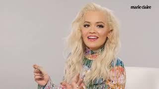 Rita Ora Plays High Stakes Jenga   Marie Claire Video