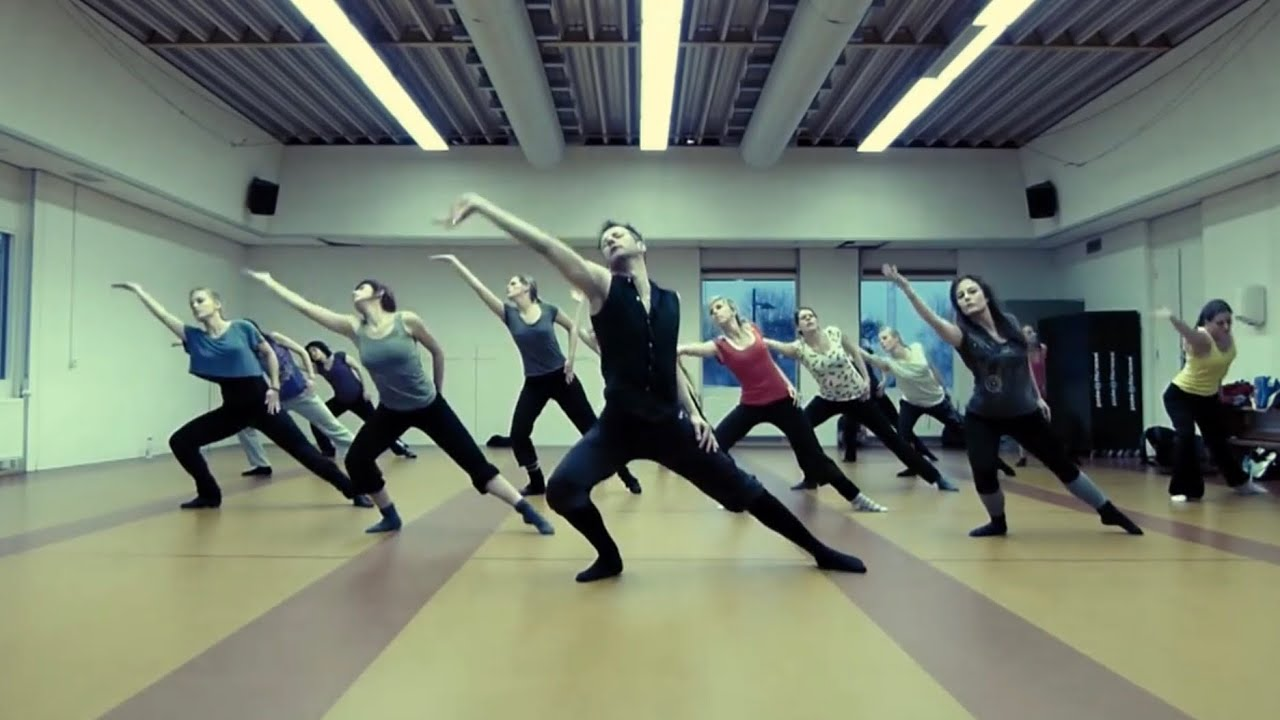 Modern Dance Class February 2012 (E-motion Style) - YouTube