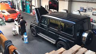 Mercedes G-Klasse AMG XPEL paint protection wrap