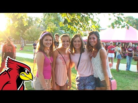 Welcome Week 2015 at Illinois State University