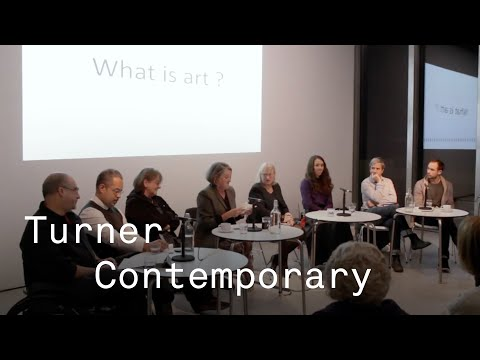 What is Art? debate at Turner Contemporary