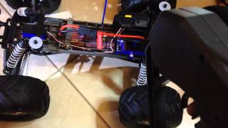 Beep while driving Traxxas Monster Jam with ESC XL-5 and with Titan-550 engine