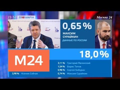 Наблюдатели контролируют подсчет голосов на выборах - Москва 24