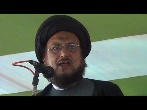 Maulana Syed Athar Abbas Rizvi Kolkata 2017 At Hussain Day In Siwan