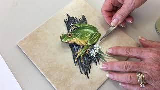 Paper Tole World: Paper Tole on a Tile