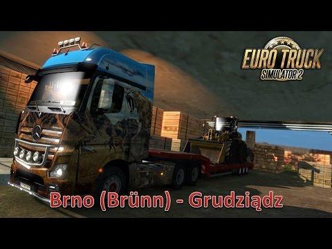 Euro Truck Simulator 2 (Brno (Brünn) - Grudziądz)
