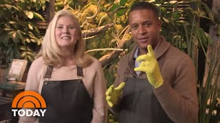 Craig Melvin Takes His Passion For Plants To Westport's Terrain | TODAY