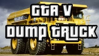 GTA V Tonka Truck SECRET CAR (GTA 5) Yellow Dump Truck