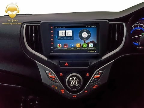 Alien Android Car Infotainment System For Baleno Youtube