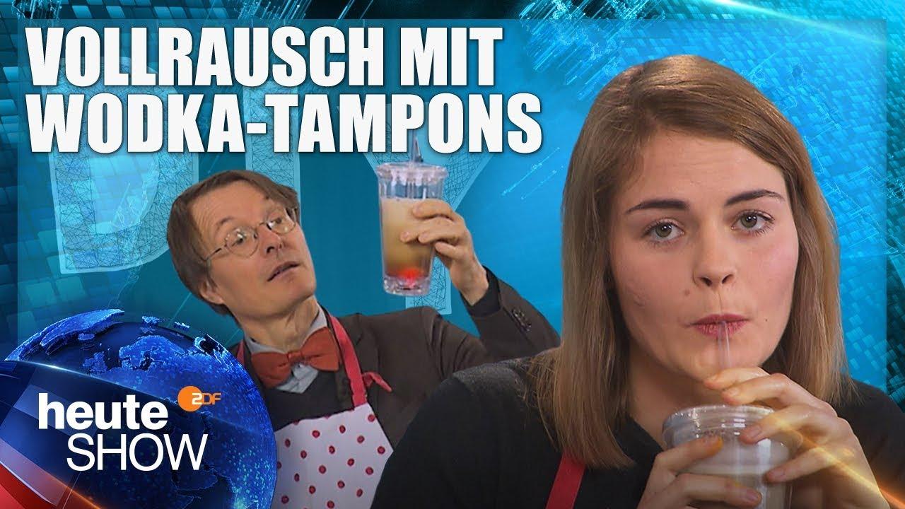Anti Kater Drinks Selber Machen Mit Hazel Brugger Und Karl Lauterbach Heute Show Youtube