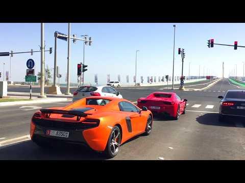 Al Hudayriat Beach - Abu Dhabi :: Following two beauties ::