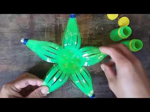 Christmas Lantern | Parol Making Using Recycling Plastic Bottles