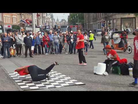 Break Machine - Best Street Dance -  Break Dance in AMSTERDAM 2016