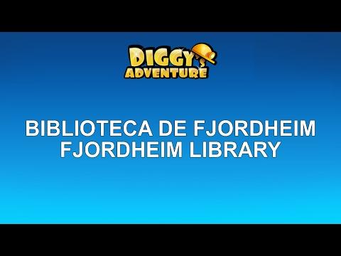 SCANDINAVIA - RENOVÁVEL - BIBLIOTECA DE FJORDHEIM (REPEATABLE - FJORDHEIM LIBRARY)