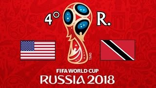 EE.UU. v. TRINIDAD Y TOBAGO - CONCACAF 2018 FIFA World Cup - GRUPO C