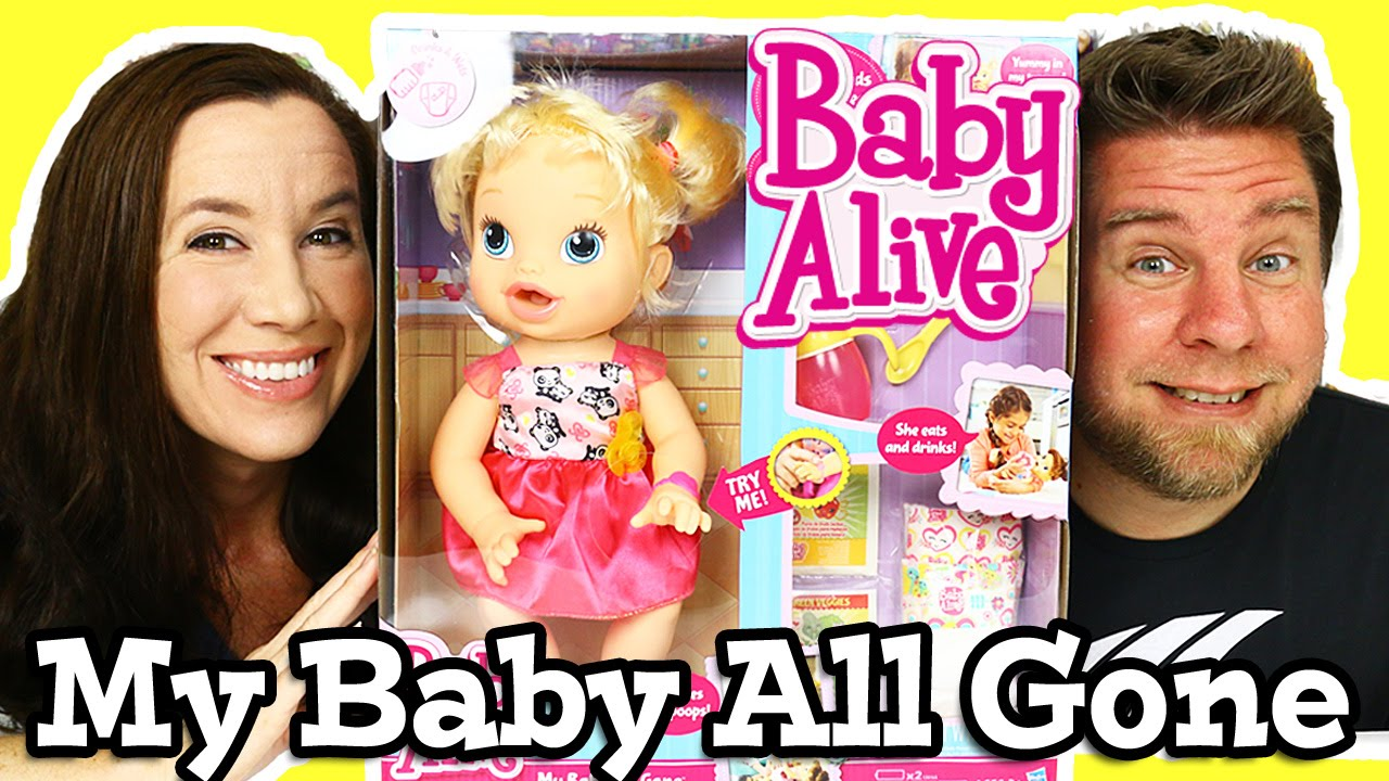 Baby Alive Doll Unboxing (My Baby All Gone)! || Girls Toys ...