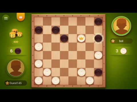 Checkers SAGA (by Monster Brain Studios) - board game for android - gameplay.