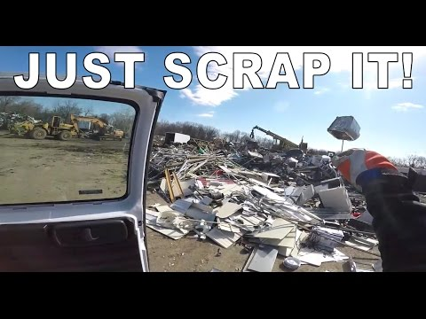 Scrap Metal Yard And Ebay Vlog #1