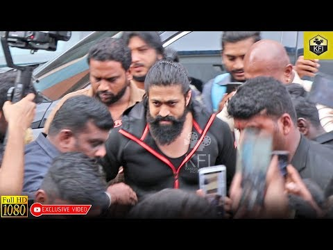 Yash Mass Entry To Kiss Trailer Launch | KGF Hero Yash | Rocking Star Yash | Actor Yash Latest Video