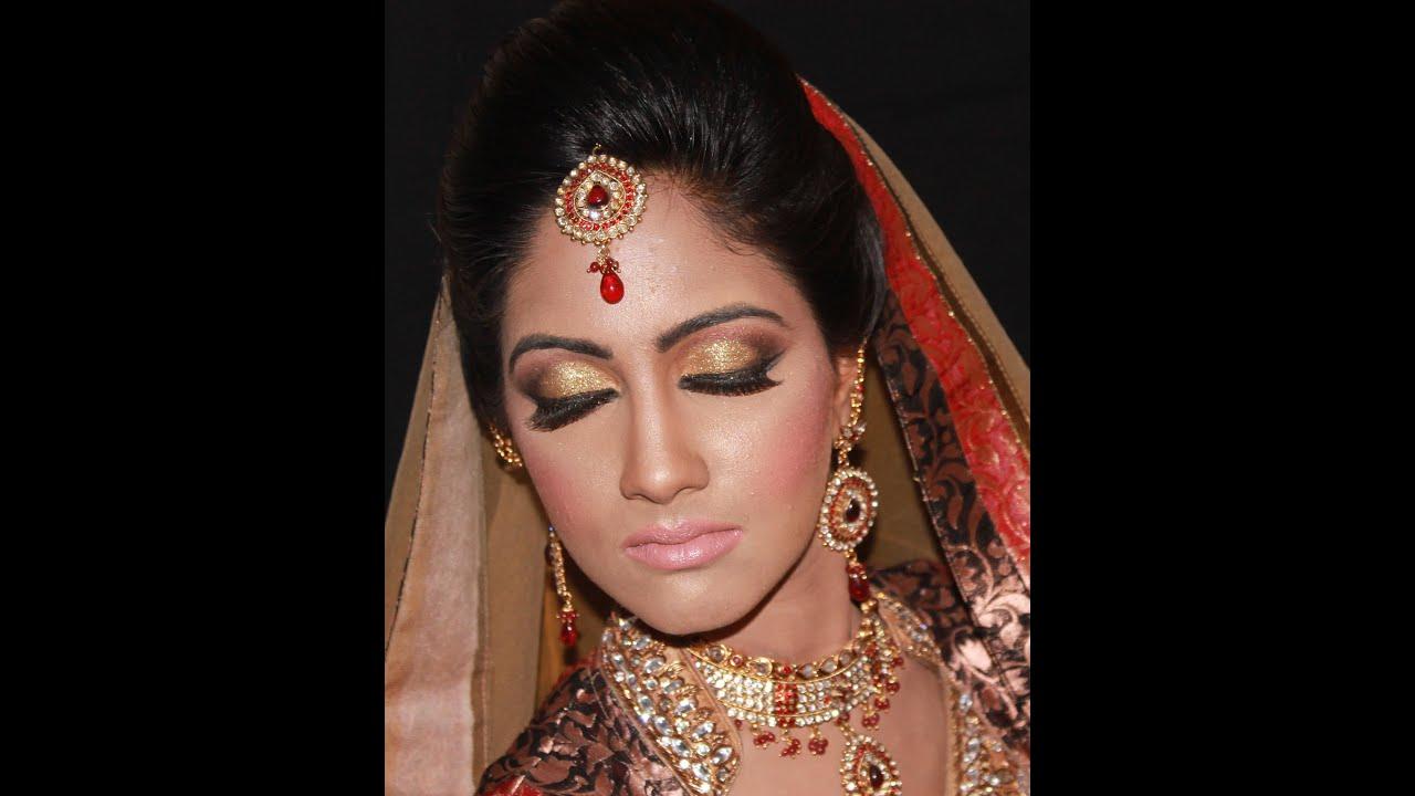 Bridal Hair and Makeup - HD - YouTube