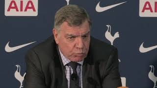 Allardyce angry with Everton's capitulation at Tottenham