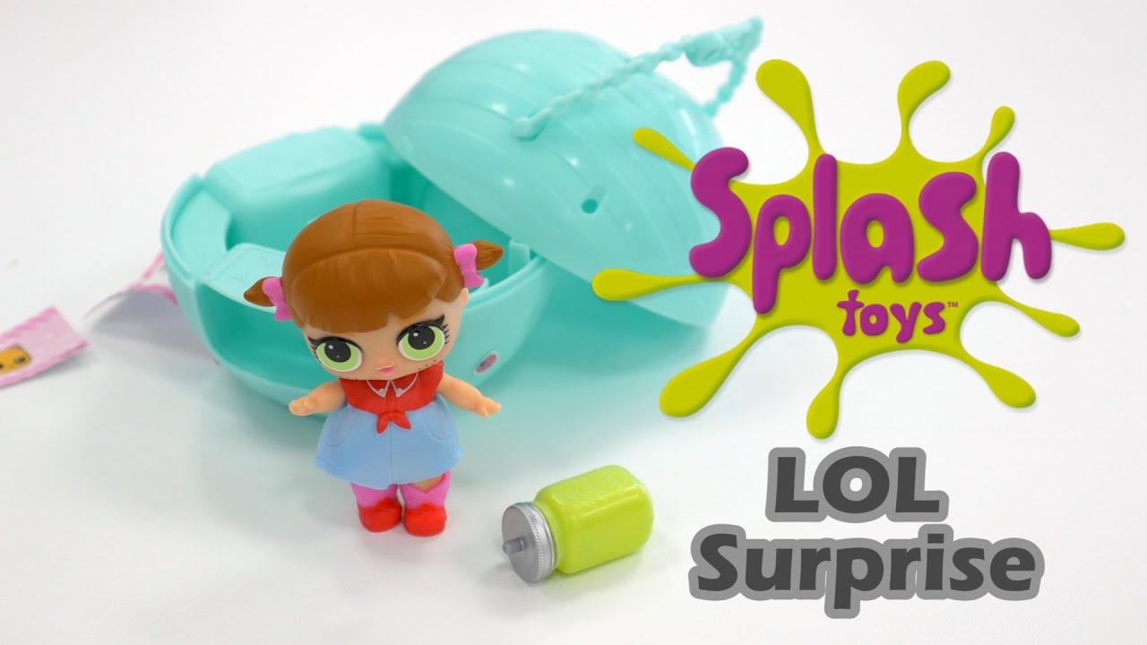 lol boule surprise de splash toys d mo en fran ais hd fr youtube. Black Bedroom Furniture Sets. Home Design Ideas