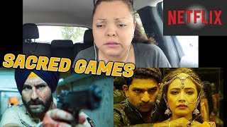 Sacred Games Trailer Reaction | Saif Ali Khan | Nawazuddin Siddiqui | NETFLIX