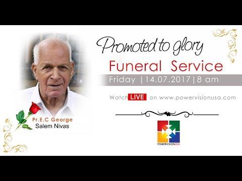 Funeral  Service   | Pr.E.C George