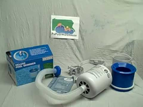 2010 Intex Deluxe Wall Mount Surface Skimmer 58949 Youtube