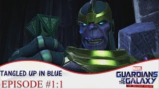 Guardians Of The Galaxy Telltale Episode 1 Gameplay Walkthrough Part 1 - Tangled Up In Blue