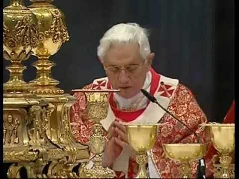 Pater Noster Cantato Da Benedetto XVI
