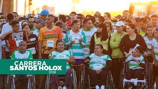 embeded bvideo Carrera Santos Holox 2018