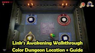 Color Dungeon Location + Walkthrough - The Legend of Zelda: Link's Awakening (Switch)