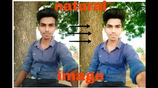 How to make natural oil photo in picsart