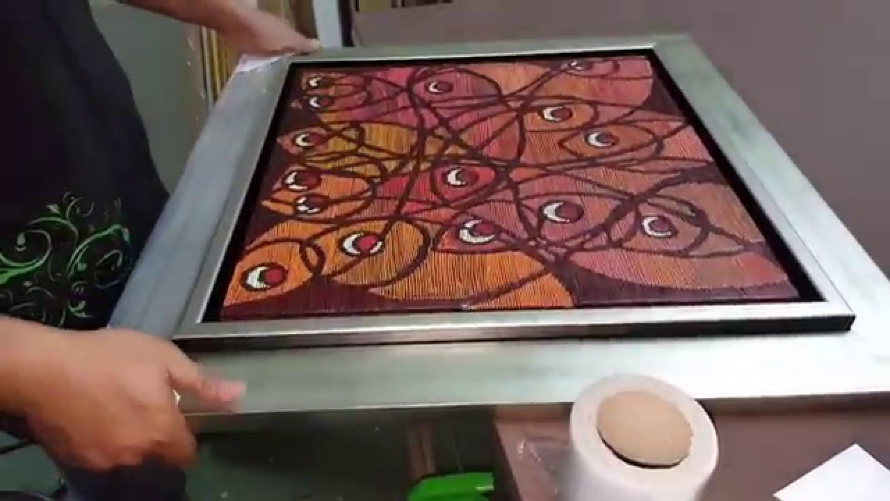 Picture framer Kuala Lumpur - special floater frames - YouTube